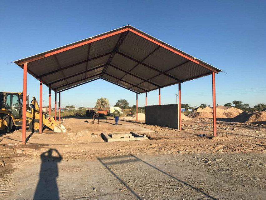 纳米比亚QTY6-15 block machine in Namibia (13)