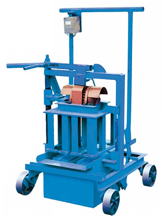 QM40A Mobile Egg laying Block Making Machine