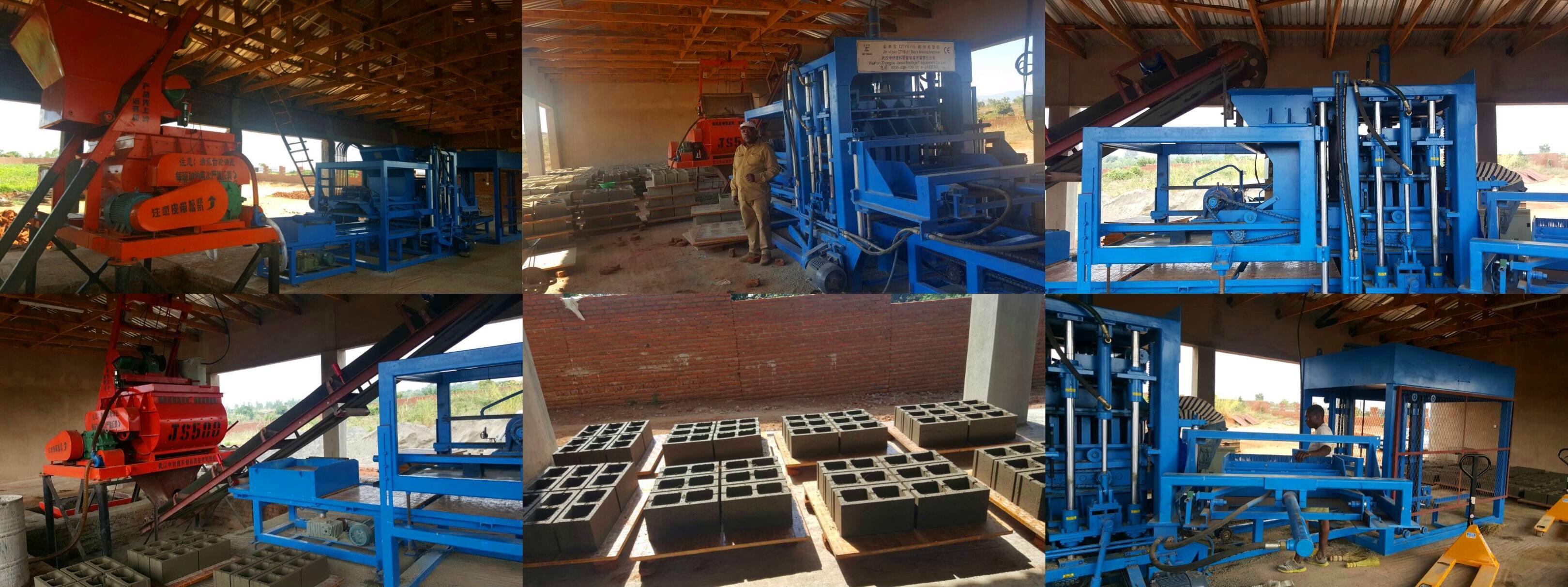 Malawi Agent ZCJK Block making machine