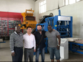 Uganda Ambassador visit ZCJK Block making machine factory