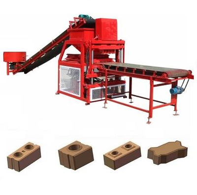 ZCY4-10 Hydraulic Interlock Clay Brick Making Machine