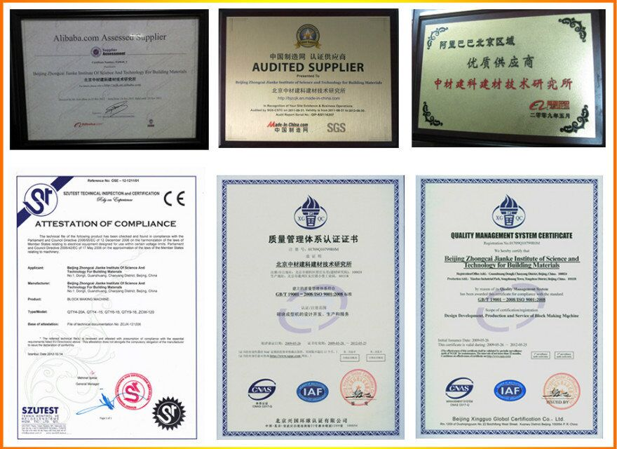 BV SGS CE ISO9001 CERTIFICATE