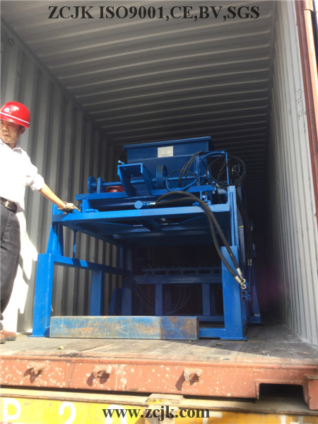 ZCJK 4-20A Automatic Hydraulic Machine - Container loading in ZCJK Factory